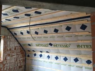 Dakisolatie- nieuwbouw - met cellulose vlokken te Dessel