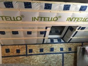 Dakisolatie - muurisolatie - renovatie met cellulose vlokken in Dessel