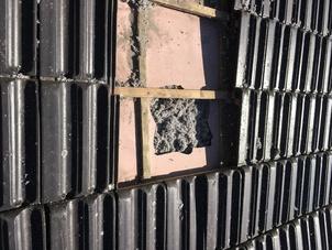 Dakisolatie - renovatie met cellulose vlokken te Dessel