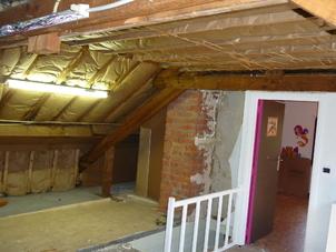 Renovatie zolder
