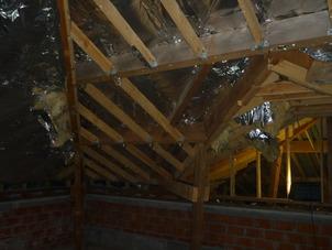 Renovatie van de zolder