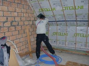 Samen Energie Sparen, cellulose isolatie,renovatie , IQ3